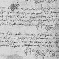 Extrait du registre des baptêmes d'Hillion de 1565