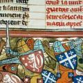 combat de croisade - Enluminure – source Archives Nathan