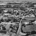 Le bourg de Hillion en 1950