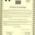 Charte du jumelage