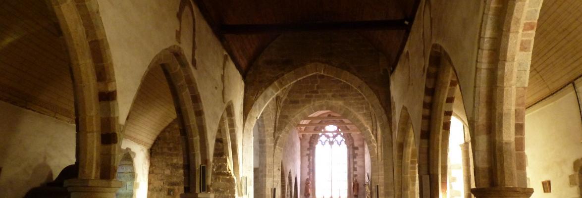 Intérieur de l'église saint Jean-Baptiste